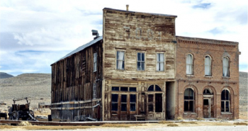 Ghost town - Bodie, California, Credit flicker
