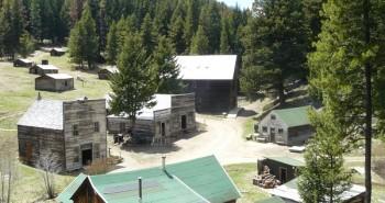Garnet Montana ghost town overview