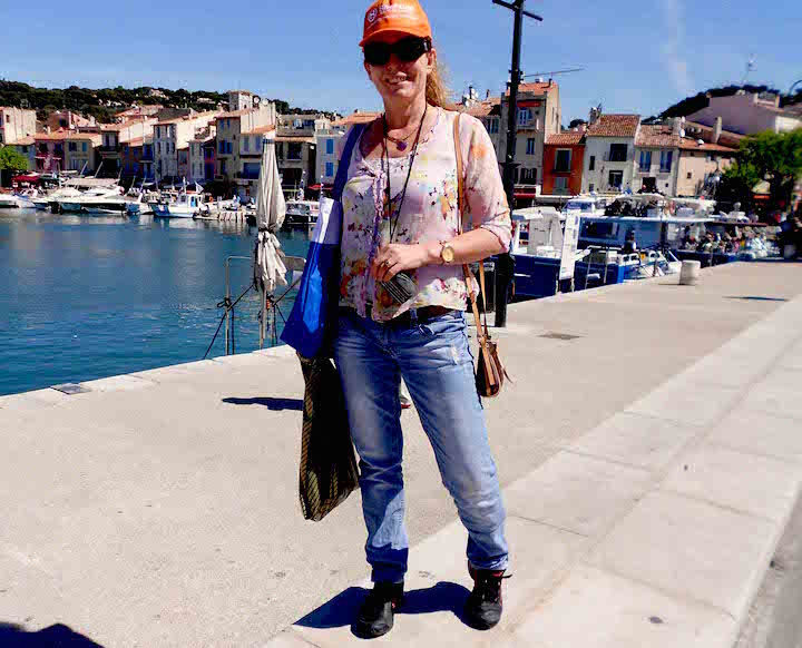 Caroline Hurry in Cassis