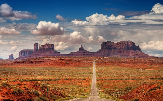 Red Rock Scenic Byway, Arizona, Credit Pinterest