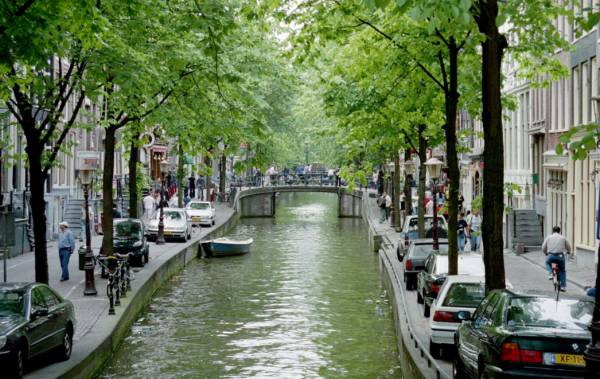 One of Amsterdam's 17th century canals