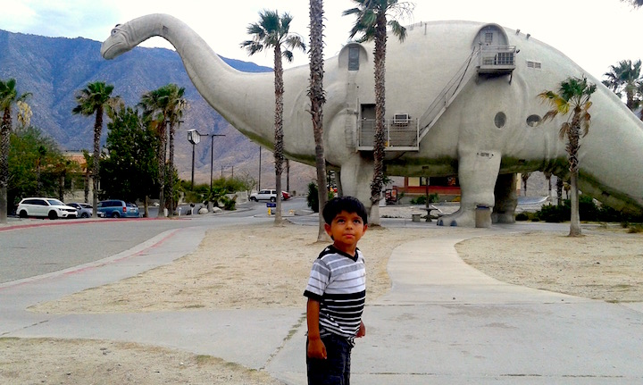 Dinosaures at Cabazon