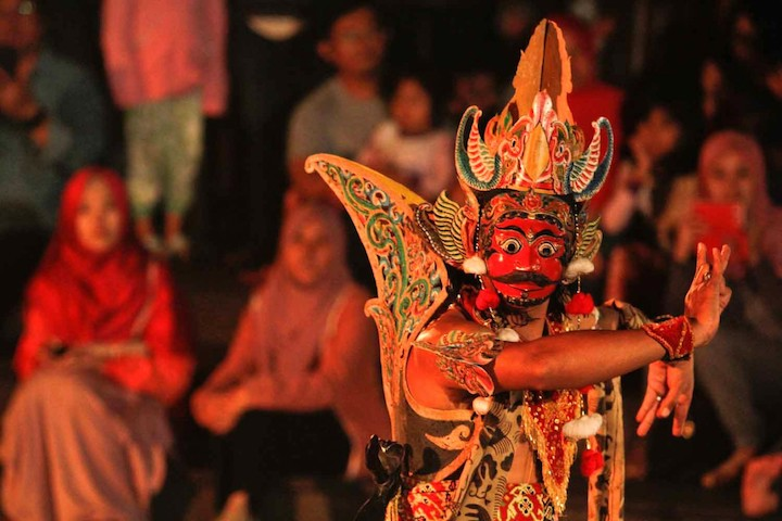 Topeng mask dance, credit-The Jakarta Post