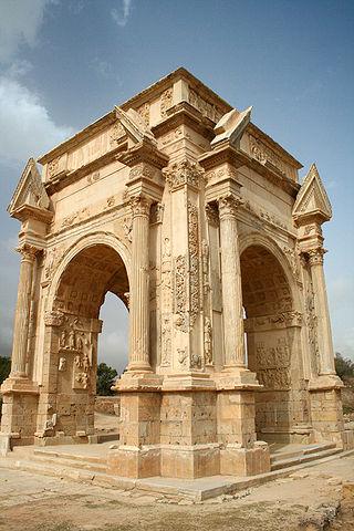 Leptis Magna Arch of Septimus Severus