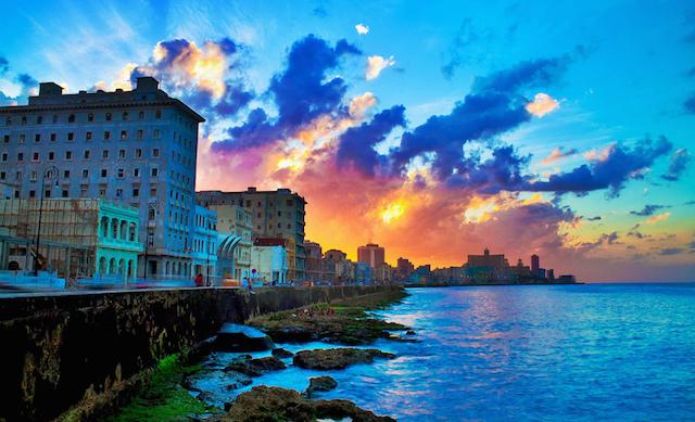 Malecon, Havana, Credit by Diogo Salles-flicker