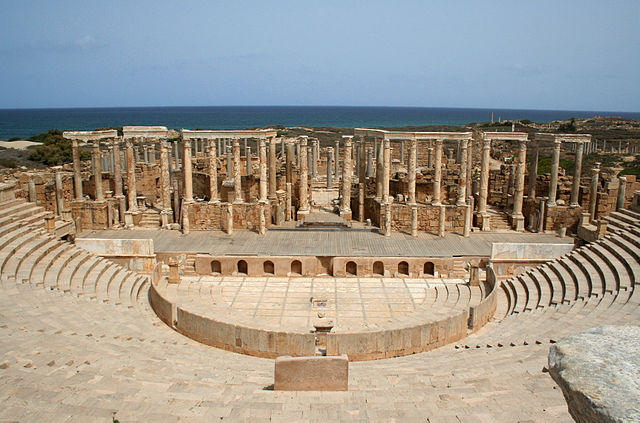 Leptis Magna Theater