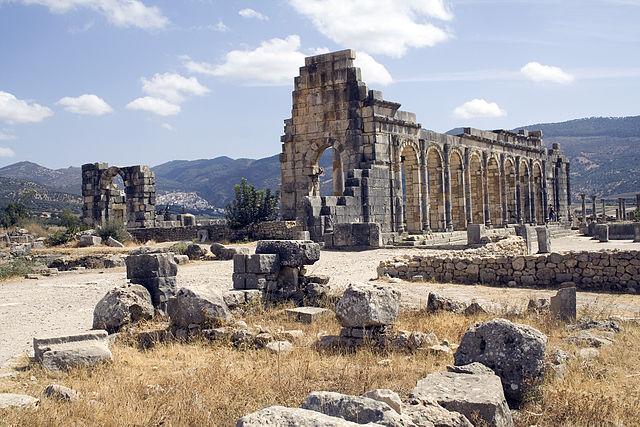 [Image: 640px-Volubilis_basilica_exterior.jpg]