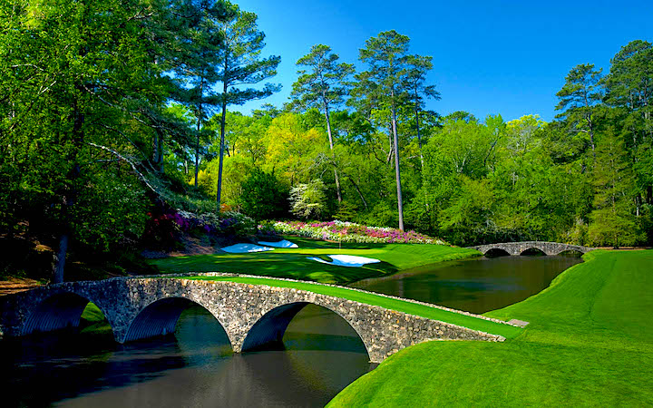 Augusta National Golf Club in Augusta, Credit- synthetic-turf