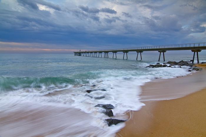 Badalona Beach, Credit- catalonia-valencia.com