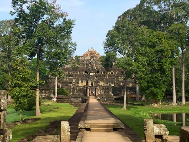 Baphuon Temple at Angkor Wat