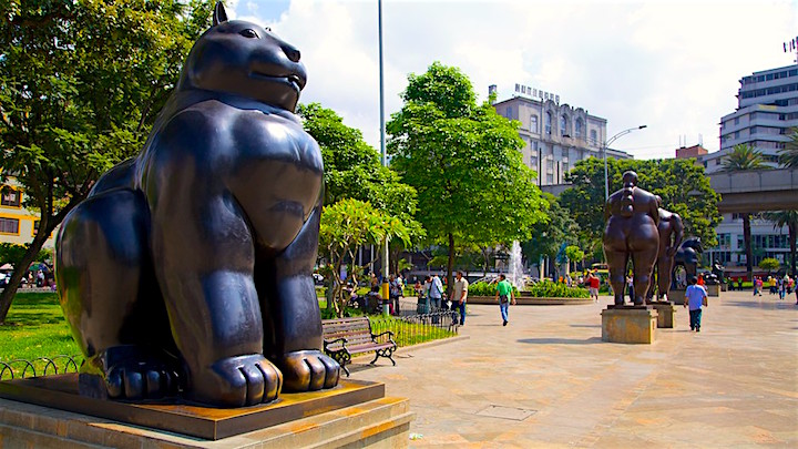 Botero Sculpture Park, Credit- Expedia