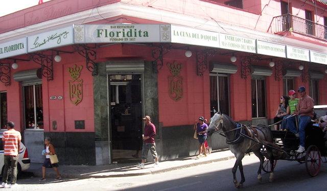 El Floridita Bar, Credit-Wikipedia