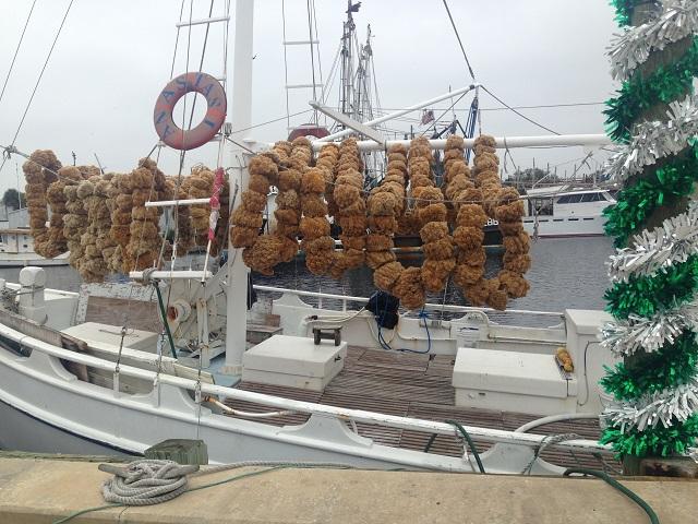 Sponge Boat, Tarpons springs