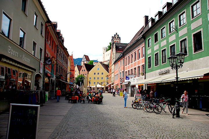 Fussen street
