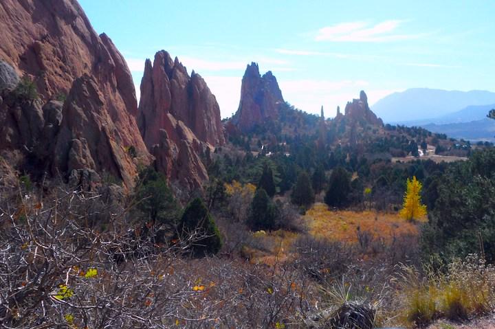 Landscapes beyond the Gateway Rocks