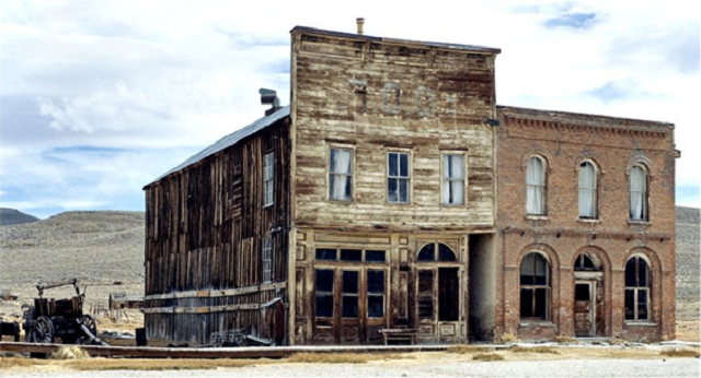 Ghost town - Bodie, California, Credit flicker