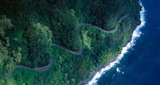 Hana Highway, Hawaii Credit Bing images