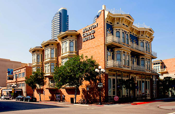 Haunted Hotel in Downtown San Diego