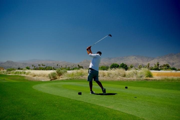 Golfing in Cimarron