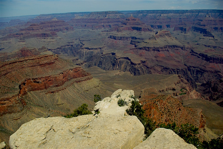 Breathtaking views of the canyons
