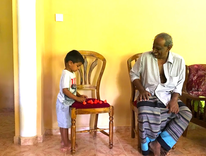 boots with grandpa