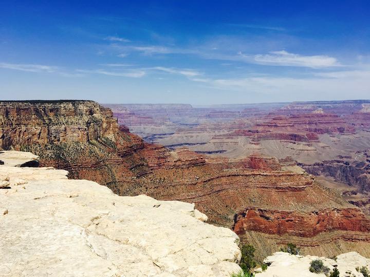 Beautiful colorful canyons