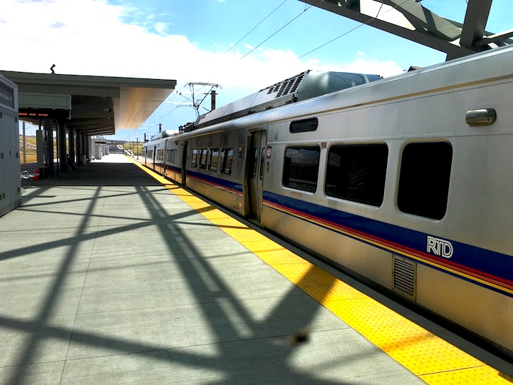 train from Airport to DT