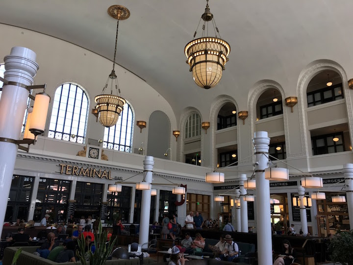Union Station in downtown
