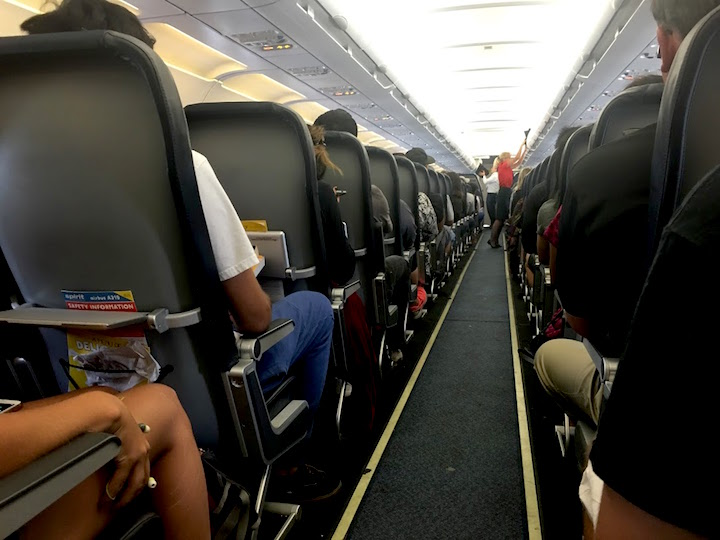 Inside the airline