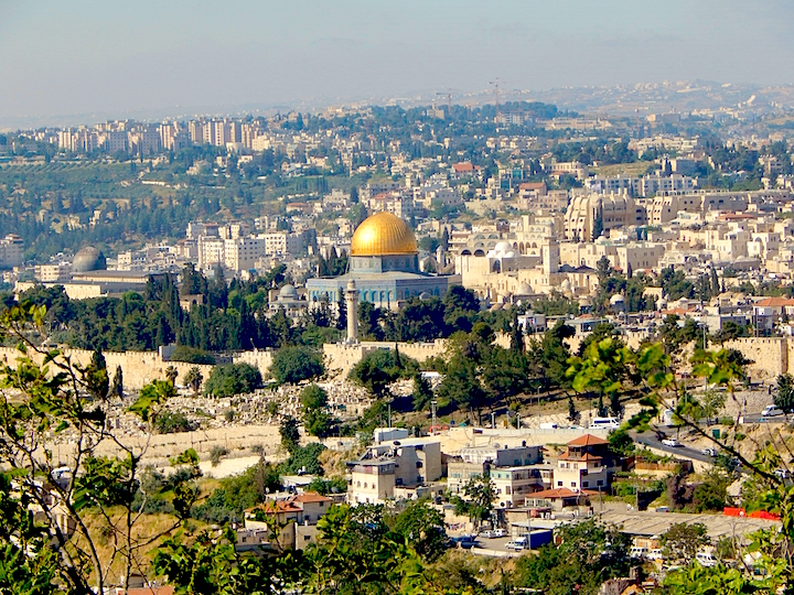 Iconic view of Jerusalem