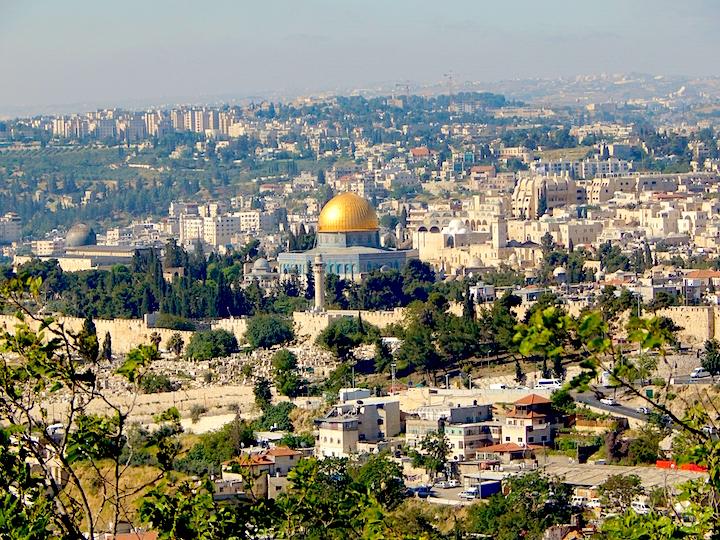 Iconic view of Jerusalem