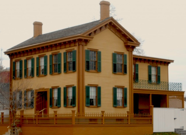 Lincoln's family home, Springfield
