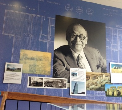Portrait of Architect Dr. I.M. Pei