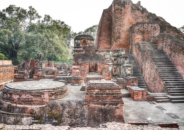 Nalanda ruins, credit- Margie Savage, flicker