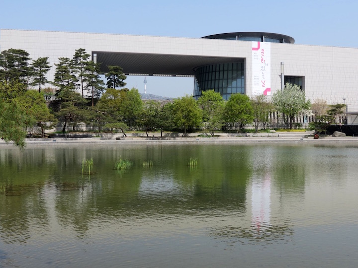 Natmuseum: the huge, modern National Museum of Korea