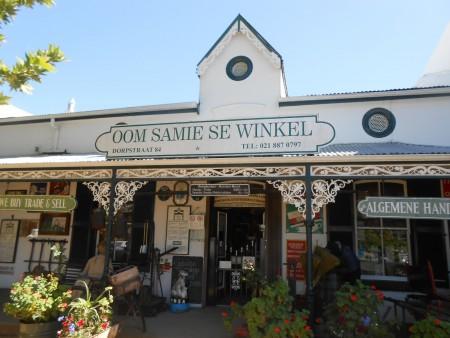 Oom Samie se Winkel, Stellenbosch
