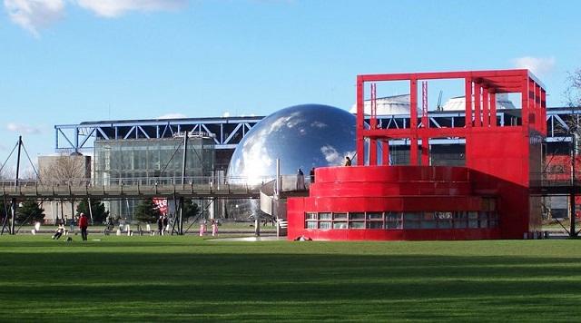 Parc de la Villette, Credit-hotel-aida-marais-paris.com