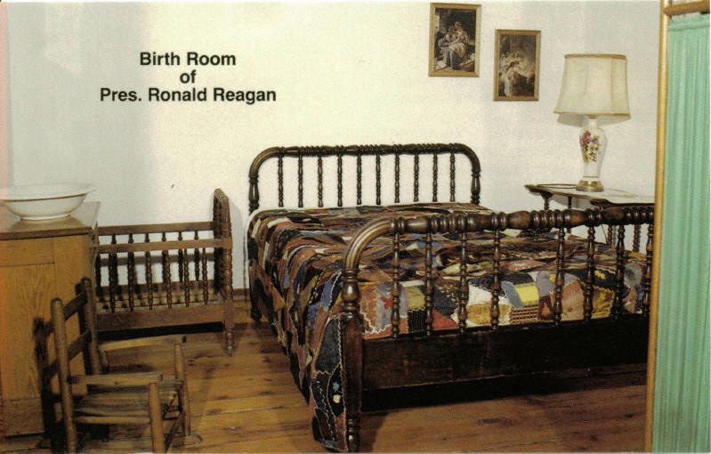 Regan birthplace