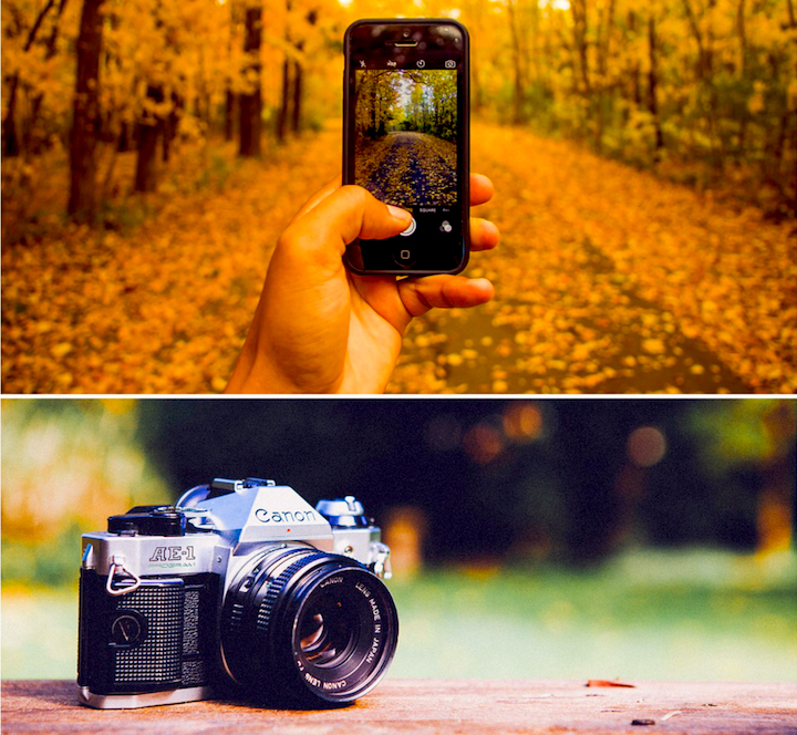 Smartphone vs DSLR