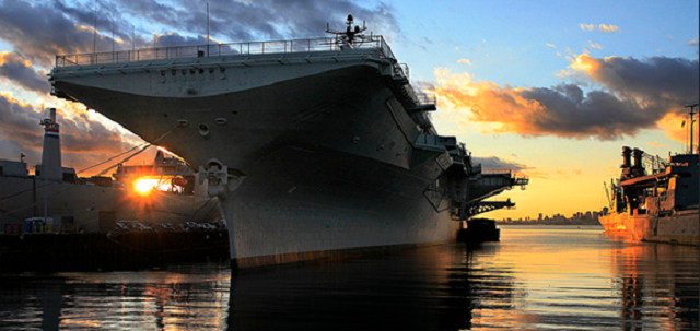 USS Hornet - Alameda, Credit- Flicker