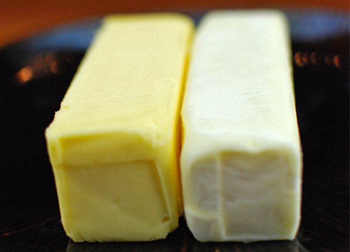 Yellow butter or white butter, credit- judithcooks.blogspot