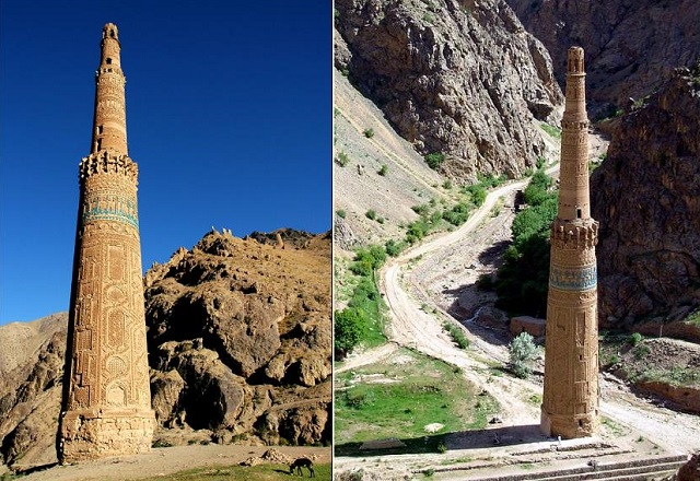 Minaret of Jam,Credit- monumentalloss.com , wikipedia