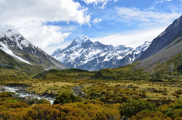 Mount Cook- New Zealand