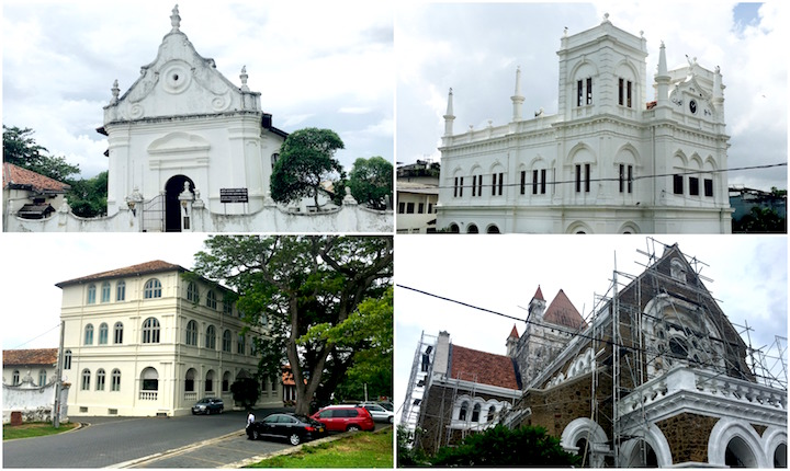 Some Landmarks in Galle Fort