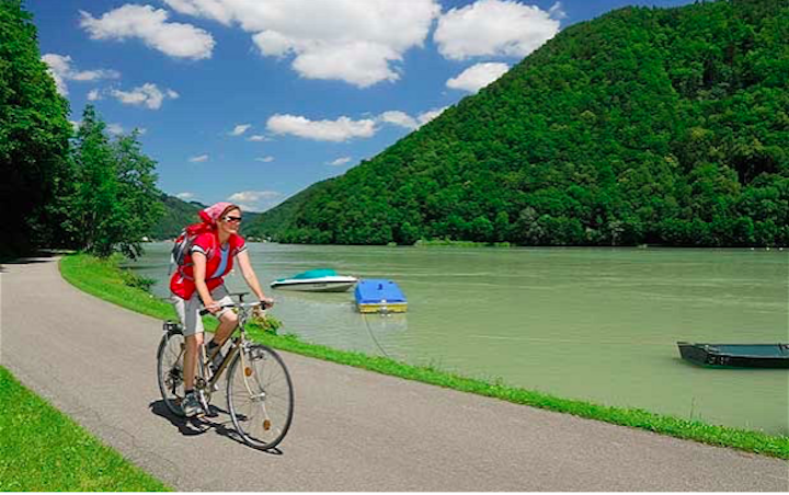 River Cruise the Danube by boat and bike, Credit - Telegraph.co.uk