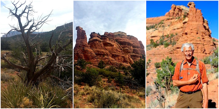 Twister Juniper, Energy vortex and the Heart man in Sedona