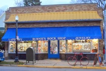 Burnie's Rockshop