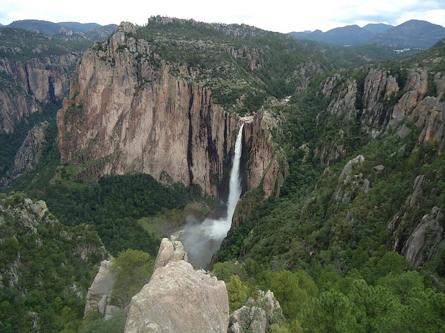 Basaseachic Waterfall, Copper Canyon