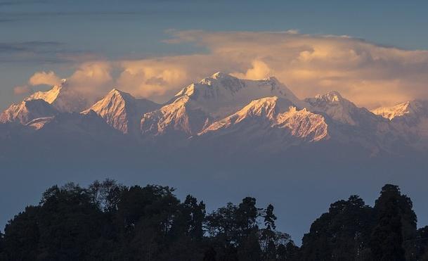 Kanchenhunga, Himalayas