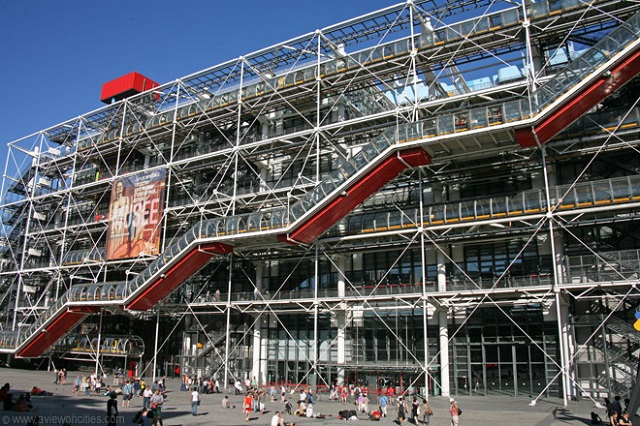 Centre George Pompidou, Credit aviewoncities.com